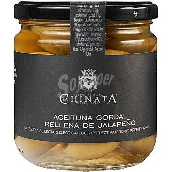 La Chinata Aceitunas gordal rellenas de jalapeños Frasco 200 g neto escurrido