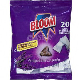 Bloom Antipolillas Bolsa 20 unid
