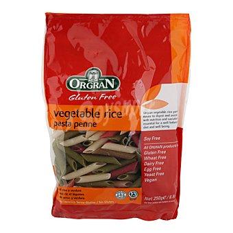 Orgran Macarrones verdura arroz - Sin Gluten 250 g
