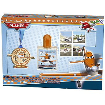 DISNEY Planes eau de toilette natural infantil spray 50 ml + pegatinas + etiqueta del equipaje Spray 50 ml