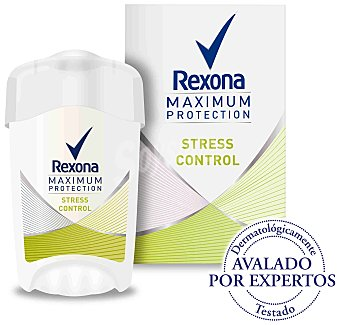Rexona Women Maximum Protection desodorante en crema Stress Control anti-transpirante envase 45 ml Envase de 45 ml