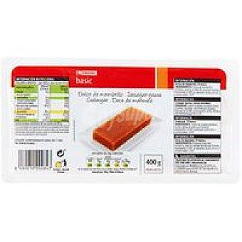 Eroski Basic Dulce de membrillo Tarrina 400 g