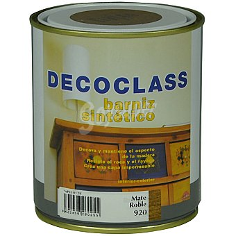 DECOCLASS Barniz sintético mate color roble 750 ml