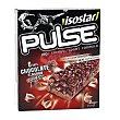 Barritas energéticas de chocolate y guaraná Pulse  6 uds x 23 g Isostar
