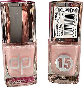 Deliplus Laca uñas Nº 15 rosa perlado 1 unidad