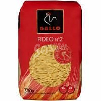 GALLO Fideo n2 500 g + 20% gratis