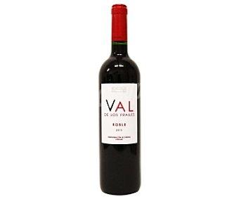 Valdelosfrailes Vino tinto roble de denominación de origen Cigales Botella de 75 Centilítros