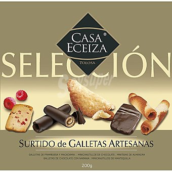 CASA ECEIZA Selección Surtido de galletas artesanas Estuche 200 g