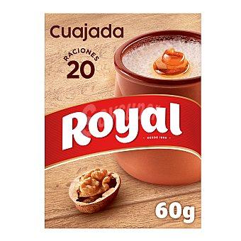Royal Cuajada azucarada, postre en polvo 60 g