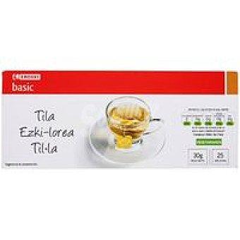 Eroski Basic Tila Caja 25 sobres