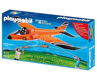 PLAYMOBIL Avioneta de Rescate Planeadora, Modelo 5216 1 Unidad