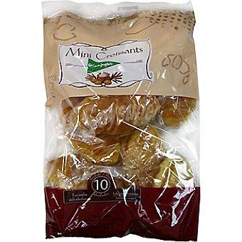 El Corte Inglés mini croissants artesanos envasados individualmente 10 unidades  bolsa 300 g