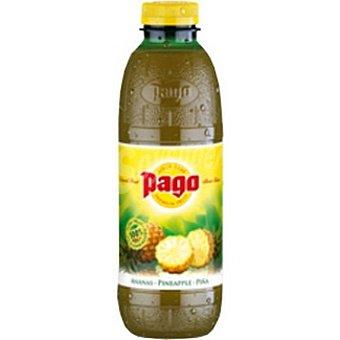 Pago Zumo 100% concentrado de piña Botella 75 cl