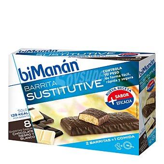 Bimanan Barrita sabor chocolate y blanco 320 g