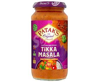 Patak's Salsa de tomate con notas de cilantro y comino, Tikka Masala patak´s 450 g. 450 g