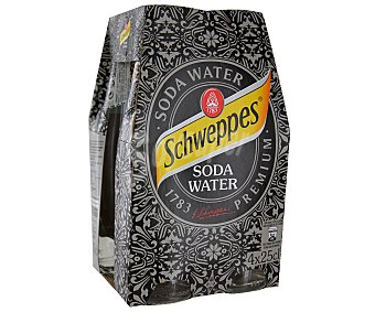 Schweppes Soda Pack 4X250ML