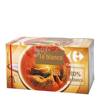 Carrefour Té blanco natural 100% 20 ud