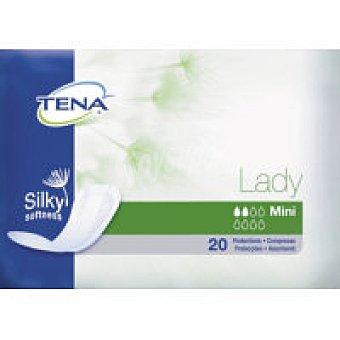 Tena Lady Compresa de incontinencia mini Paquete 20+10 unid