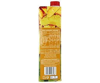 Auchan Zumo de piña, manzana y uva Brick de 1 litro