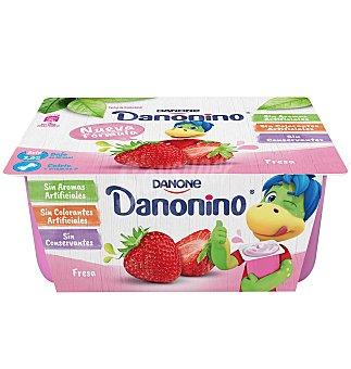 Danonino Danone Petit suisse fresa Pack 6 u x 50 g