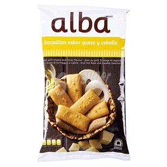 Alba Bocadito de pan queso y cebolla Bolsa 110 grs
