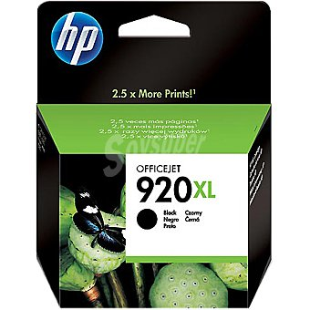 HP Nº 920 XL cartucho color negro