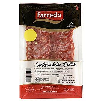 Farcedo Salchichón extra en lonchas sin gluten 100 G 100 g
