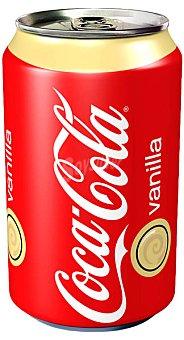 Coca-Cola Refresco de Cola con Sabor Vainilla Lata 33 cl