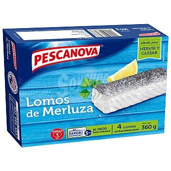 Pescanova Lomos de merluza Caja 360 gr