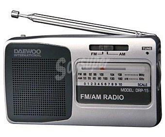 Daewoo Radio portátil DRP-15/DBF015 analógico analógico
