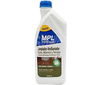 MPL Abrillantador limpiador uso diario gres, mármol y terrazo 1 l