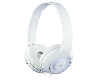 JVC HA-S220-W-E Auricular cerrado tipo casco con cable, color blanco