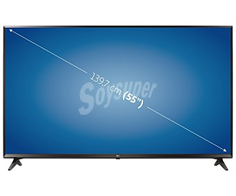 "LG Electronics Televisión 139,7 cm (55"") LED uhd, smart TV, wifi, TDT HD, USB reproductor y grabador, hdmi, 1600HZ 55UJ630V"