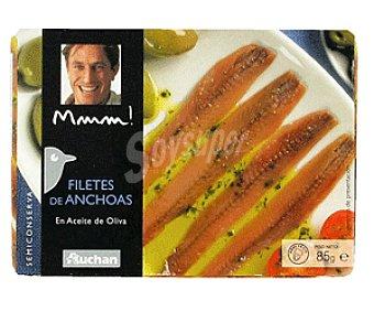 Mmm Auchan  Filetes de Anchoas en Aceite de Oliva 85g