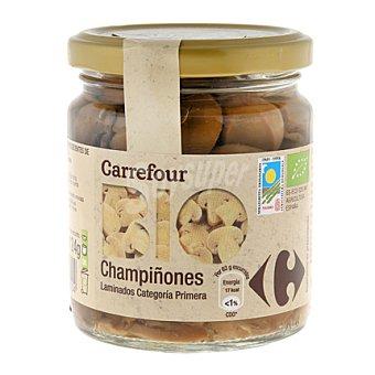 Carrefour Bio Champiñones laminados primera 124 g