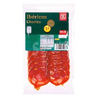 DIA Chorizo ibérico lonchas sobre 60 g