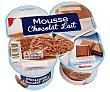 Mousse de chocolate Pack de 4 unidades de 100 gramos Auchan