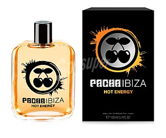 Pachá Ibiza Eau de toilette masculina Hot Energy Frasco 100 ml