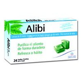 Klorane Alibi 24 Pastillas