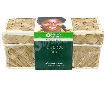 Intermón Oxfam Té verde intérmon oxfam 20 bolsitas Intermón Pack de 2x20 unid - 40 gr