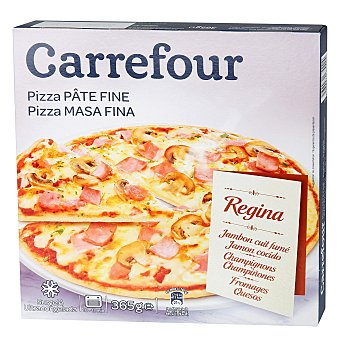 Carrefour Pizza Regina masa fina 365 g