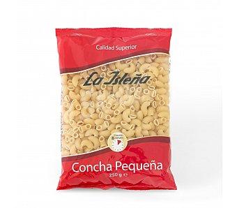 La Isleña Conchas pequeñas, pasta de sémola de trigo duro de calidad superior 250 Gramos