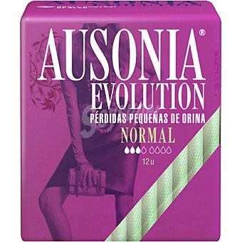 Ausonia Evolution compresas de incontinencia normal bolsa 18 uds Bolsa 18 uds