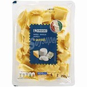 Eroski Ravioli de queso Bandeja 250 g