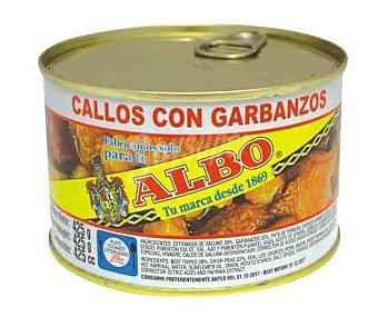 Albo Callos con garbanzos 425 g