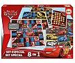 Set especial Cars, juegos de mesa infantiles 8 en 1, Educa DISNEY.  Cars Disney