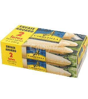 Carretilla Esparragos carretilla Pack de 2x150 g