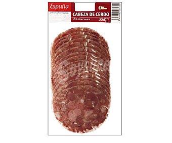 Espuña Cabeza de cerdo, cortada en finas lonchas 200 gr