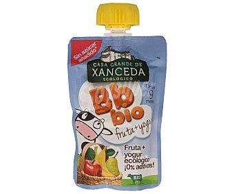 Casa Grande de Xanceda Zumo de frutas Bb Bio con yogur ecológico  Envase 90 g