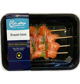Brocheta salmon 400 g